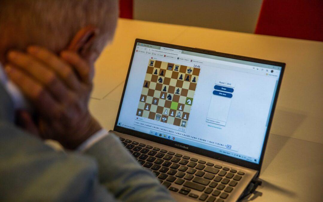 Sjakk & Samfunn!  Nett-turnering på onsdag 27.okt